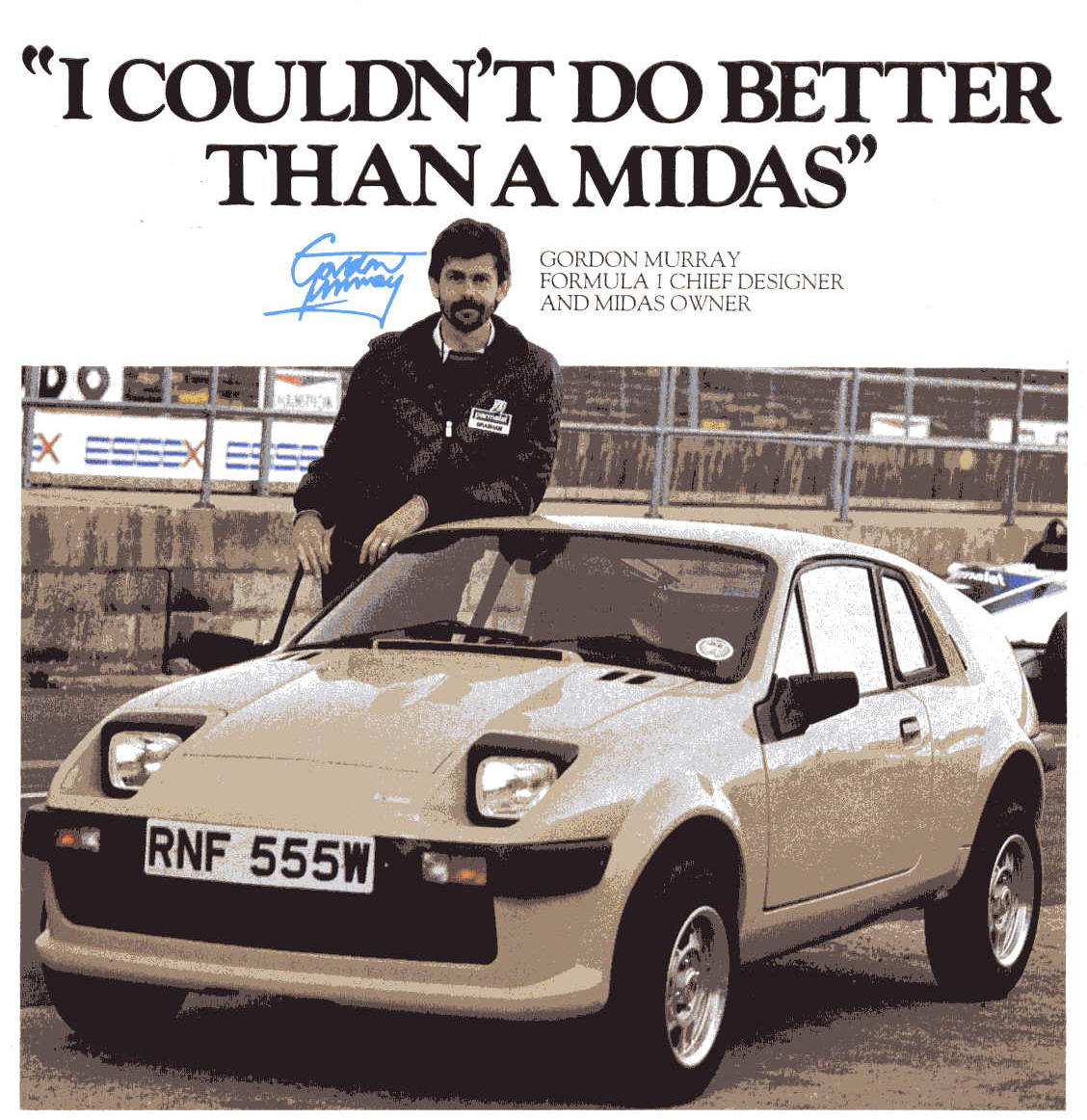 Curb Weight Vs Gross Weight >> Daily Turismo: 5k: 1985 Midas Mini GT Gold